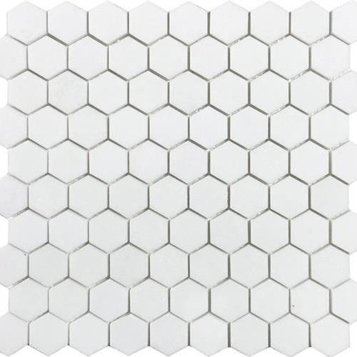 Metropolitan - Stone White Thassos Polished Hexagon
