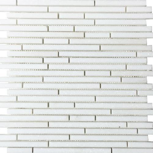 Metropolitan - Stone White Thassos Polished Pixie Strip