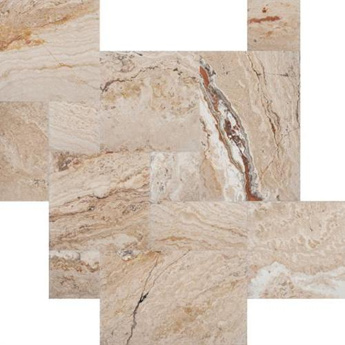Antique Chiseled  Brushed Stone Venetian