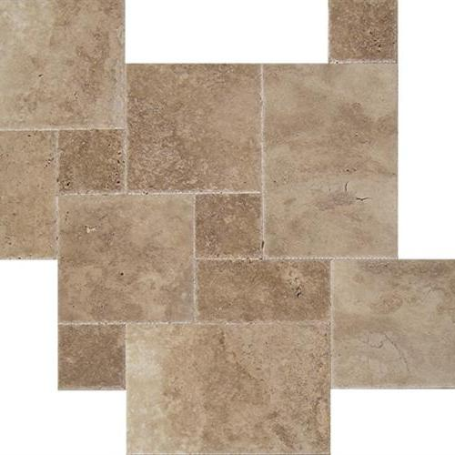Tesoro Antique Chiseled & Brushed Stone Warm Walnut Natural