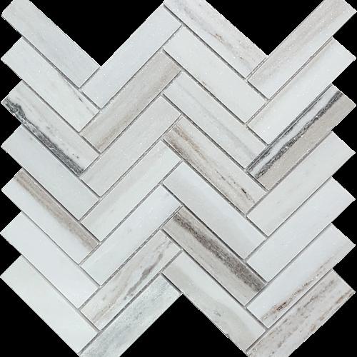 Skyline Polished Herringbone Mosaic