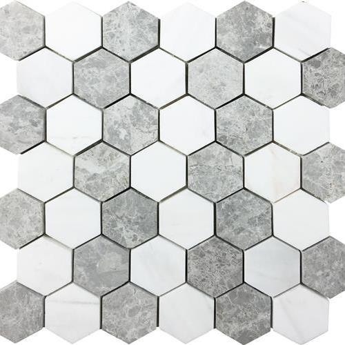 Metropolitan - Dolomite Nuvoloso Hexagon Mosaic
