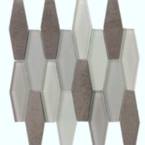 Metropolitan - Stone  Glass Mink Polished Diamond