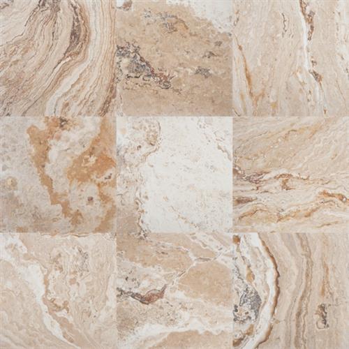 Venetian Honed  Filled Travertine 18X18