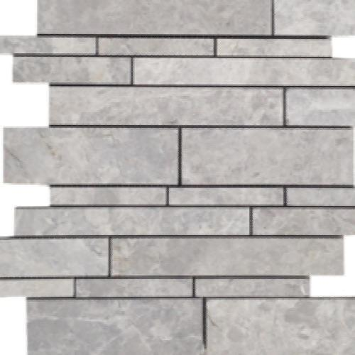 Nuvoloso Brushed Random Linear Mosaic