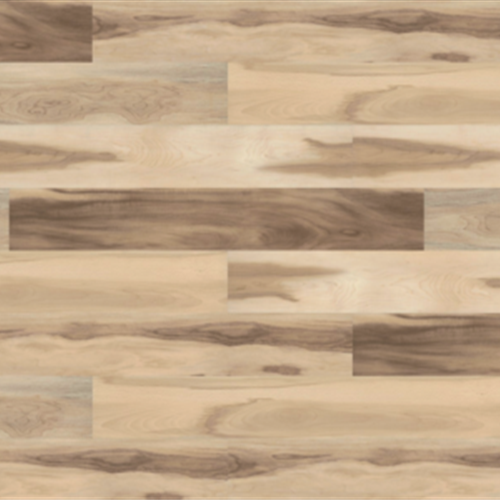 A close-up (swatch) photo of the Maple flooring product