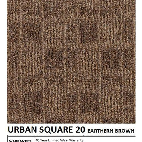 Urban Square 20 Earthen Brown