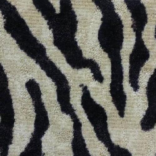 Zebra Print Black  White