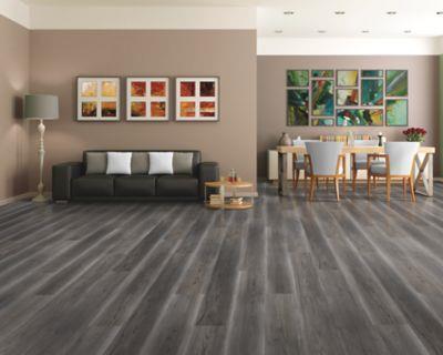 Mohawk Industries Inez Plank Grey Slate, Slate Colored Laminate Flooring