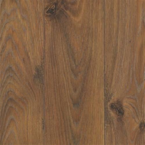 Evanston Rustic Saddle Oak