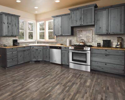 Mohawk Industries Mabe Plank Weathered, Weathered Gray Laminate Flooring