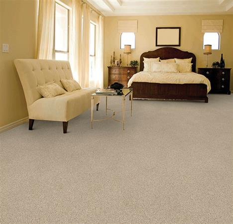 Room Scene of Silken Thread - Carpet by The Dixie Group
