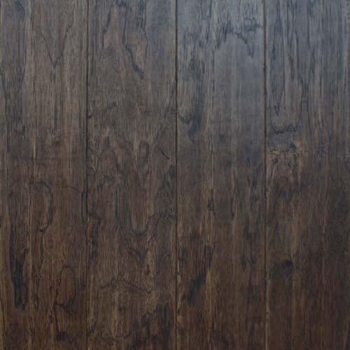 A close-up (swatch) photo of the Dark Cognac flooring product