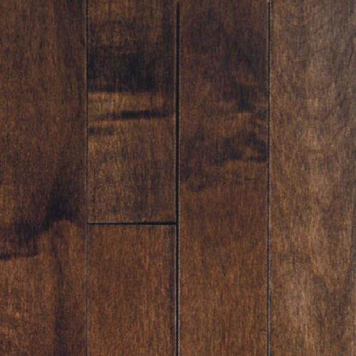 "Muirfield in Cappuccino  2.25"" - Hardwood by Mullican"