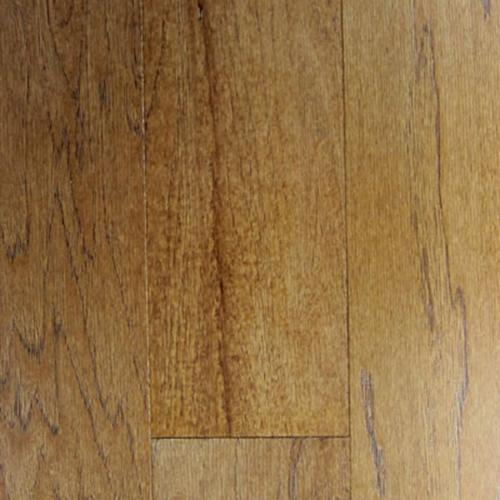 Hillshire Engineered Hardwood in Hickory Saddle - Hardwood by Mullican