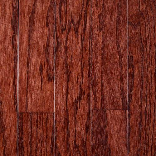 "Hillshire Engineered Hardwood in Merlot   5"" - Hardwood by Mullican"