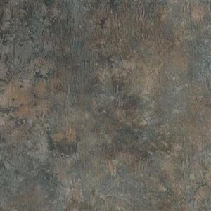 LuxuryVinyl PermastoneTile GFLBB113 Bombay-CloudedEbonyGroutable