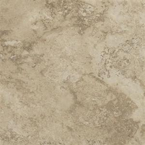 LuxuryVinyl PermastoneTile GFLTR303 Travertine-WeatheredGroutable
