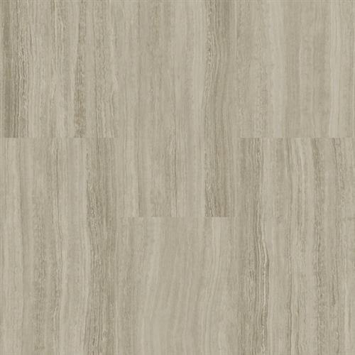 A close-up (swatch) photo of the Silver Gray   Travertine flooring product