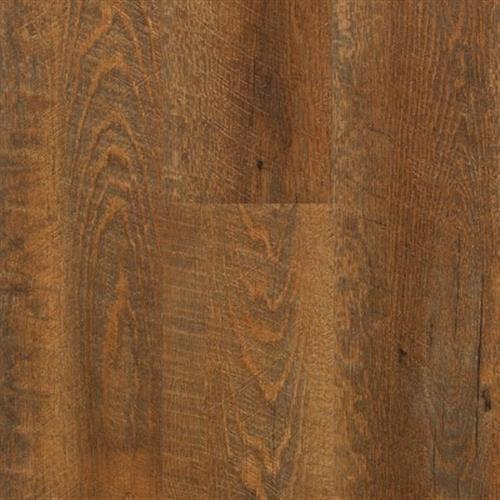 A close-up (swatch) photo of the Flamed Oak   Canyon flooring product