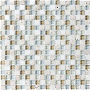 GlassTile BlissGlassStone 35-001 Spa