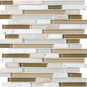 GlassTile BlissGlassStone 35-011 Bamboo