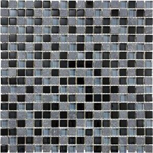 GlassTile Bliss-GlassSlateQuartz 35-019 NorwegianIce