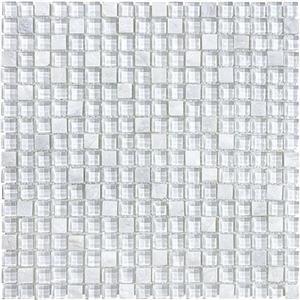 GlassTile Bliss-GlassSlateQuartz 35-022 NorwegianIce