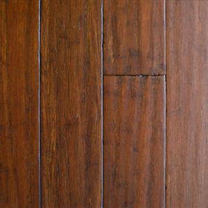 Hardwood SolidLockStrandwovenBambooHS SLB-SARS11512 Sarsaparilla