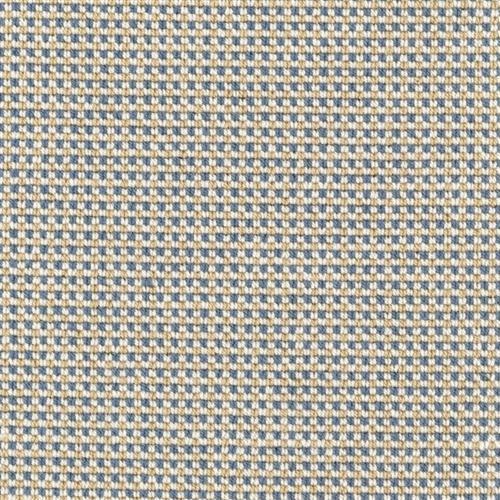 Gingham Stitch Sandstone Blue 29917