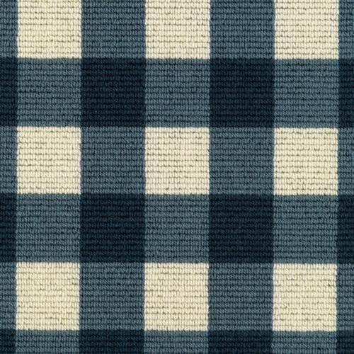 French Check Blue Check 29917