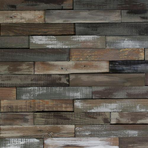 Deco Planks in Weathered Grey - Hardwood by Nuvelle