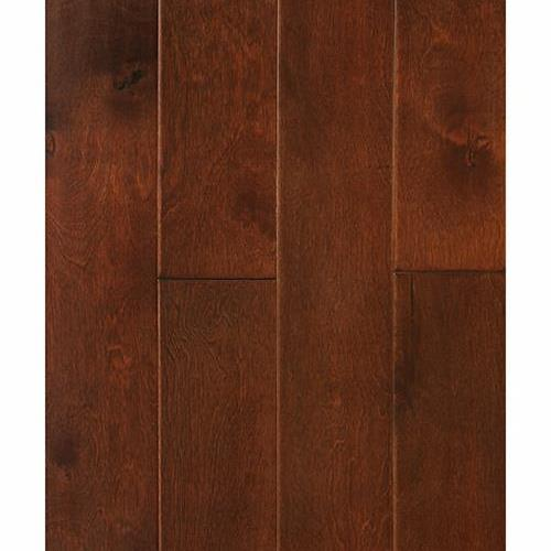 A close-up (swatch) photo of the Maple Amaretto flooring product