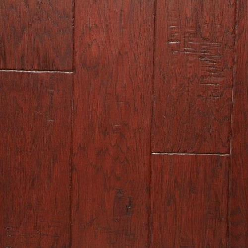 A close-up (swatch) photo of the Hickory Buckeye flooring product