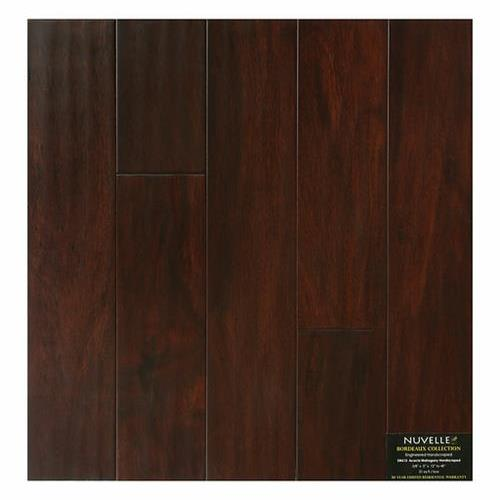 A close-up (swatch) photo of the Mahogany Acacia flooring product