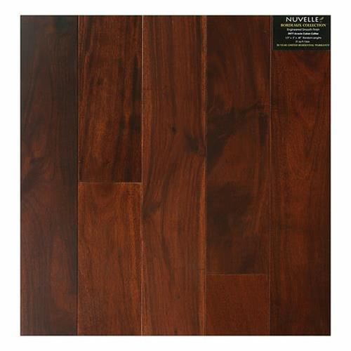 A close-up (swatch) photo of the Acacia Cuban Coffee flooring product