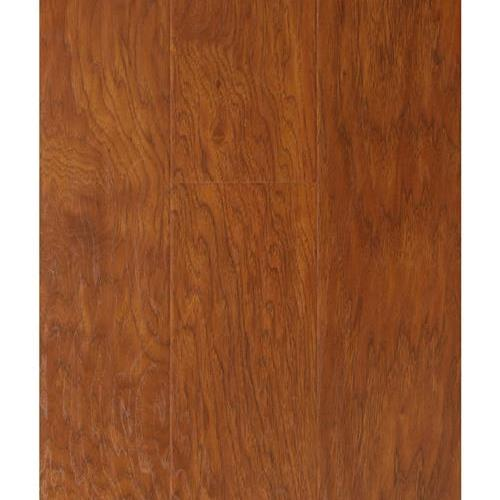 A close-up (swatch) photo of the Golden Hickory flooring product
