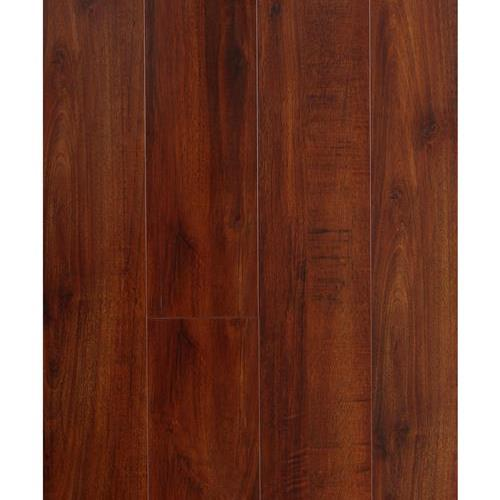 A close-up (swatch) photo of the Bubinga flooring product