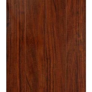 Laminate 123MMHANDSCRAPEDLAMINATE SLF602 Tigerwood