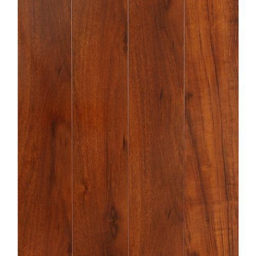 A close-up (swatch) photo of the Brazilian Cherry flooring product