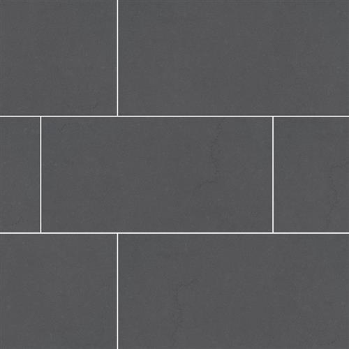 A close-up (swatch) photo of the Graphite   24x48 flooring product