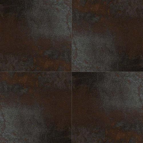 A close-up (swatch) photo of the Saturn Coal flooring product