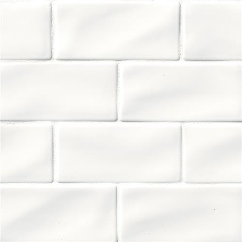 Whisper White in Subway   3x6 - Tile by MSI Stone