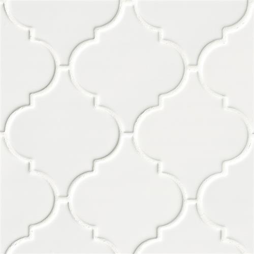 Whisper White in Arabesque - Tile by MSI Stone