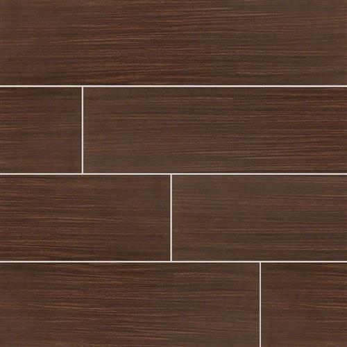 Sygma Wood Plank Ceramic Tile Chocolate