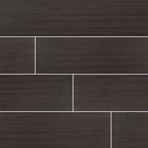 Sygma Wood Plank Ceramic Tile Ebony