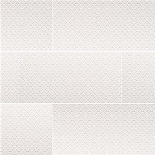 Dymo Pattern White