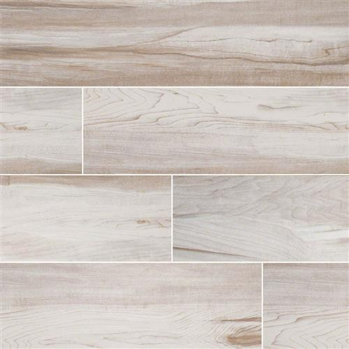 Swatch for White flooring product
