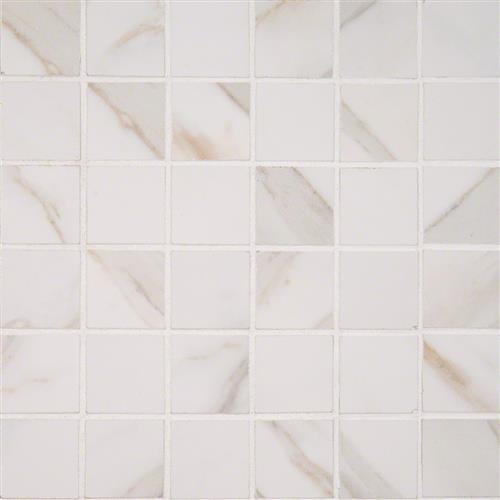 Pietra Calacatta Polished Mosaic