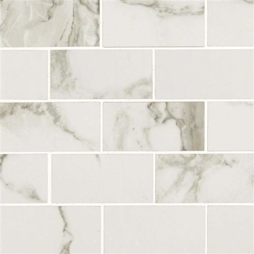 Pietra Statuario Polished Mosaic